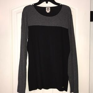 Large two toned Blouse